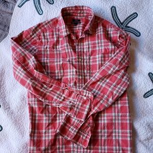 Gap plaid cotton shirt classic fit